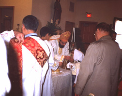 Communion of the Body of Christ