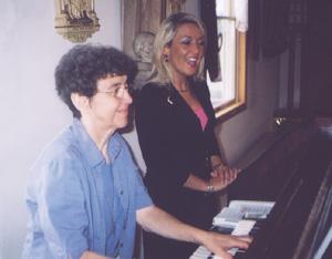 Jeanette Dandurand and Nicole Lambros