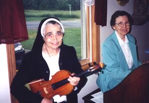 Sister Emily Rokos and Sister Mary Ricardo