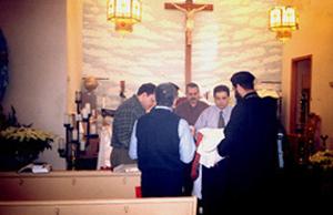 Beginning of the Divine Liturgy