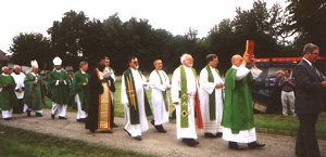Procession with Gospel Book