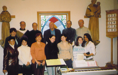Choir, on Holy Family Sunday, 2006