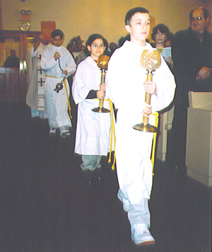 Gospel Procession Christmas 2004