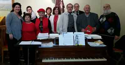 Choir, Christmas, 2015